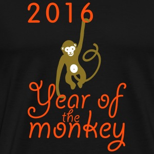 2016 The year of the monkey - Männer Premium T-Shirt
