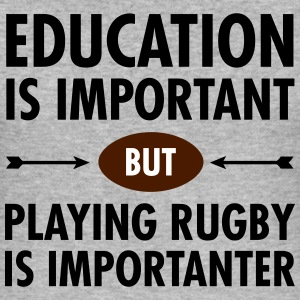 Education - Playing Rugby T-Shirts - Men's Slim Fit T-Shirt