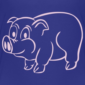 Piggy - Premium-T-shirt barn
