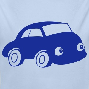 Car with eyes - Longlseeve Baby Bodysuit