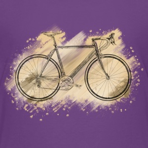 racing bike Camisetas - Camiseta premium adolescente