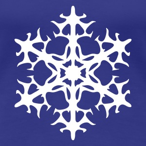 Snow star - Premium-T-shirt dam