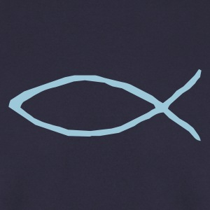 Christian fish - Men's Sweatshirt