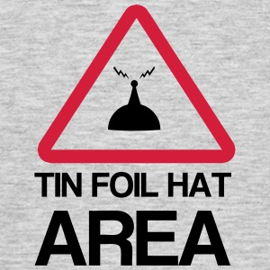 Tin Foil Hat Area T-Shirts - Men's T-Shirt