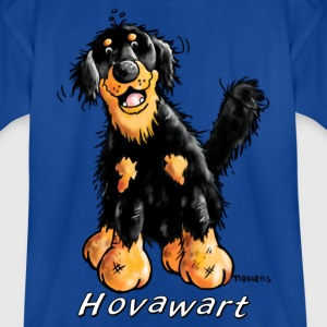 Mignon Hovawart Chien Tee shirts - T-shirt Enfant