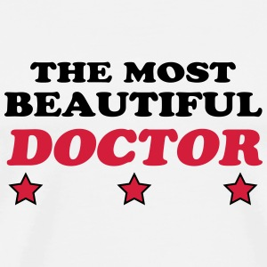 The most beautiful doctor T-Shirts - Men's Premium T-Shirt