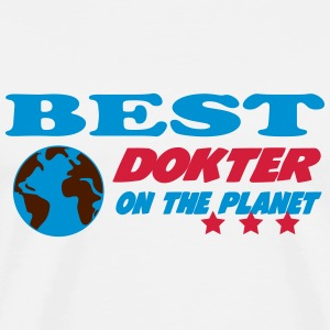 Best dokter on the planet T-shirts - Premium-T-shirt herr
