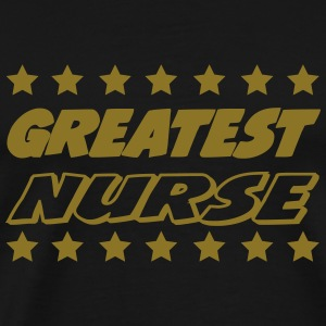 Greatest nurse T-shirts - Mannen Premium T-shirt