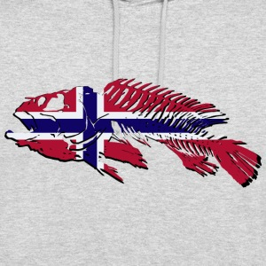 Norway Fishing Pullover & Hoodies - Unisex Hoodie
