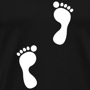 footprint T-Shirts - Men's Premium T-Shirt