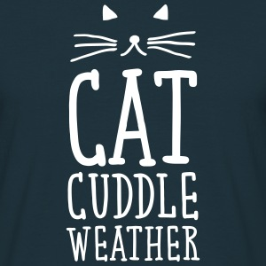 Cat Cuddle Weather T-Shirts - Männer T-Shirt