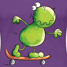 Frog on skateboard T-Shirts