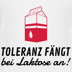 Tolerance begins with lactose! Shirts - Teenage Premium T-Shirt