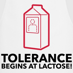 Tolerance begins with lactose!  Aprons - Cooking Apron