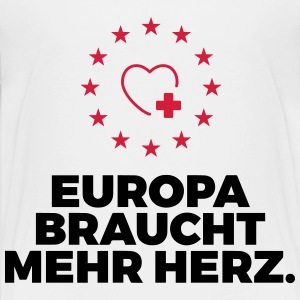 Europe needs more heart! Shirts - Teenage Premium T-Shirt