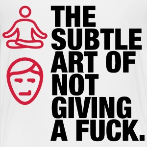 The subtle art of indifference! Shirts - Teenage Premium T-Shirt