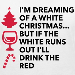 I m dreaming of a white Christmas T-Shirts - Women's V-Neck T-Shirt