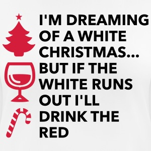 I m dreaming of a white Christmas T-Shirts - Women's Breathable T-Shirt