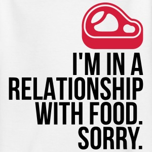 I am in a relationship with food Shirts - Teenage T-shirt