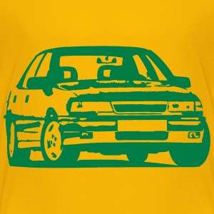 Vectra A,Car, Youngtimer, Classic, 90er, kultig, 9 - Teenager Premium T-Shirt