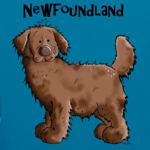 Sweet Newfoundland Dog Hoodies & Sweatshirts - Contrast Colour Hoodie