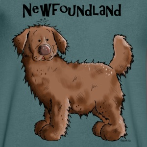 Terre-neuve - Chien Tee shirts - T-shirt Homme col V