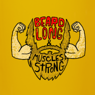 Design ~ Beard Strong mug
