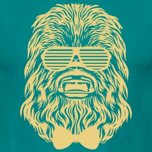 Start Wars Chewbacca Hipster Shirt green/yellow - Männer T-Shirt