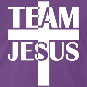 Team Jesus Christus 2c Cross Holy Spirit T-Shirt - Männer Premium T-Shirt