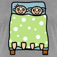 Couple bed stories T-Shirts