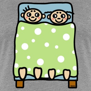 Couple bed stories T-Shirts - Women's Premium T-Shirt