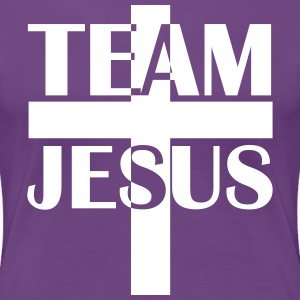 Team Jesus Christus 2c Cross Bibel Holy Spirit Tee - Frauen Premium T-Shirt