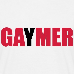GAyMER (OneWordPoetry) T-Shirts - Men's T-Shirt