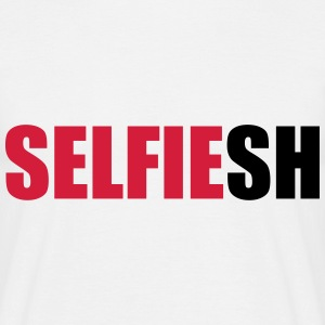 SELFIEsh (OneWordPoetry) T-Shirts - Men's T-Shirt