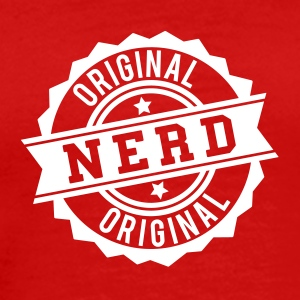 Nerd original stamp T-Shirts - Men's Premium T-Shirt