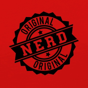 Nerd original stamp Long Sleeve Shirts - Women's Premium Longsleeve Shirt
