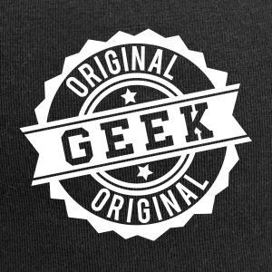 Geek original stamp Caps & Hats - Jersey Beanie