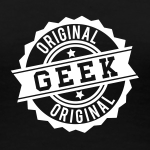 Geek original stamp T-Shirts - Women's Premium T-Shirt