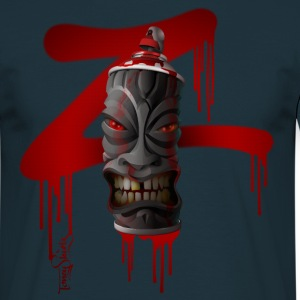 SPRAY-A-TIKI (dd_z01-red) Tee shirts - T-shirt Homme