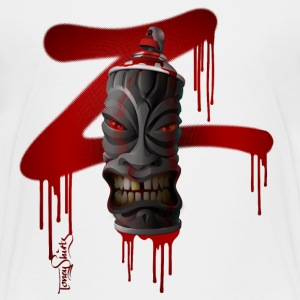 SPRAY-A-TIKI (dd_z01-red) T-Shirts - Teenager Premium T-Shirt