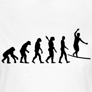 Evolution Slackline T-Shirts - Frauen T-Shirt