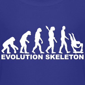 Evolution Skeleton T-Shirts - Kinder Premium T-Shirt
