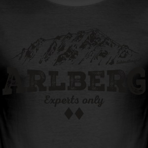 Arlberg Schindlergrat - Men's Slim Fit T-Shirt