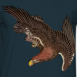 Japanese Eagle Ukiyo-e T-Shirts - Men's T-Shirt