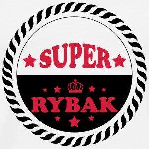 Super rybak T-Shirts - Men's Premium T-Shirt