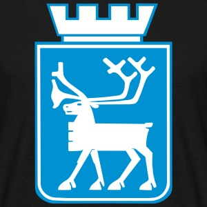 Coat of Arms of Tromso, Norway. T-Shirts - Men's T-Shirt