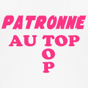 Patronne au top Tops - Frauen Bio Tank Top