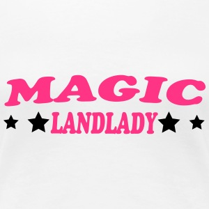 Magic landlady T-Shirts - Women's Premium T-Shirt
