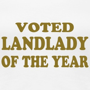 Voted landlady of the year T-Shirts - Women's Premium T-Shirt