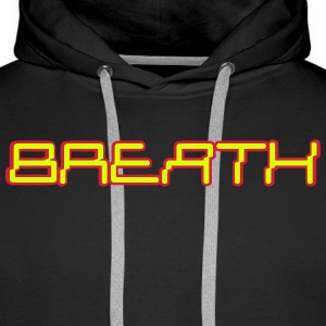Electronica Digital Breath green Pullover & Hoodies - Männer Premium Hoodie